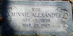 Minnie Alexander