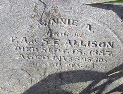 Minnie A. Allison