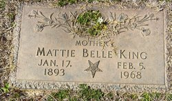 Mattie Belle King