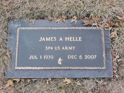 James A. Helle