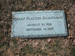 Mary Frances <i>Boggess</i> Armstrong
