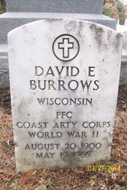 David Elijah Burrows