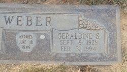 Geraldine <i>Spensley</i> Weber