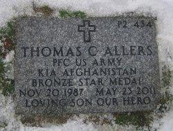 PFC Thomas Craig Tom Allers