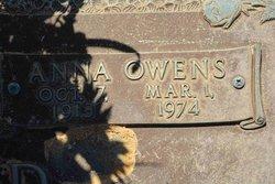 Anna <i>Owens</i> Silver