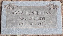 Anna Eleanor <i>Black</i> Needham