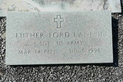 Sgt Luther Ford Lane, II