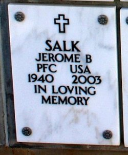 Jerome B Salk
