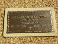 Pvt Earl Dean Alexander