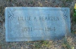 Lillie A. <i>Erskine</i> Bearden