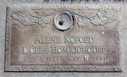 Alene Dobbs <i>Kofoed</i> Homrighouse