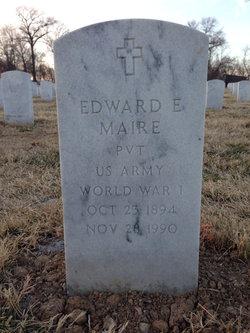 Edward E Maire