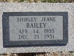 Shirley Jeane Bailey