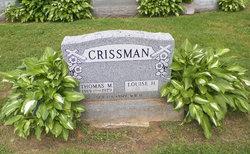 Louise H <i>Mohney</i> Crissman
