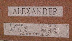 Alice Cox <i>Harrod</i> Alexander