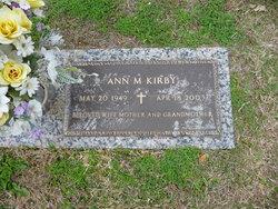 Anna Margaret Ann <i>Malin</i> Kirby