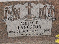 Ashley D Langston