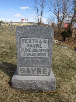 Bertha E. <i>Jividen</i> Sayre