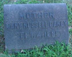 Mary <i>Russell</i> Carey