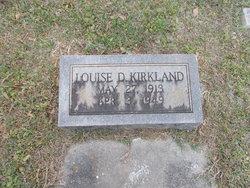 Louise <i>Dorman</i> Kirkland