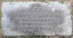 PFC Albert J Garand