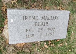 Irene <i>Malloy</i> Blair
