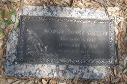 Rowdy Shane Arnett