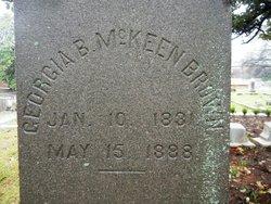 Georgia <i>McKeen</i> Brown