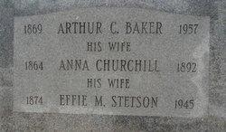Effie M. <i>Stetson</i> Baker