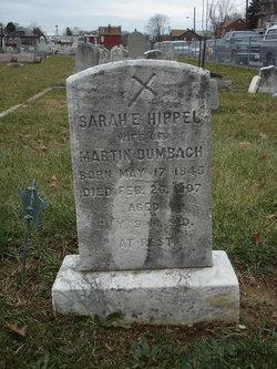 Sarah E <i>Hipple</i> Dumbach
