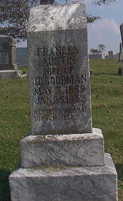 Frances Ellen <i>Austin</i> Goodman