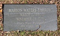 Marion <i>Waters</i> Barrow