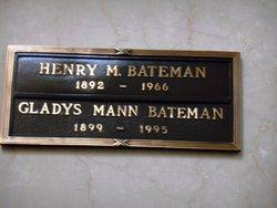 Gladys <i>Mann</i> Bateman