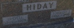 Lucille Mary <i>Lewis</i> Hiday