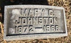 Mary G <i>Gardner</i> Johnston