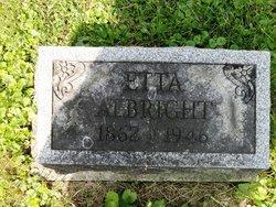 Henrietta Etta Albright