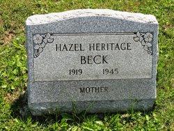 Hazel <i>Heritage</i> Beck