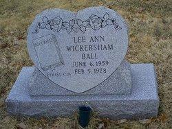 Lee Ann <i>Wickersham</i> Ball