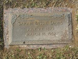 Sarah Bessie <i>Witcher</i> Davis