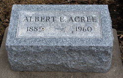 Albert Elmer Acree