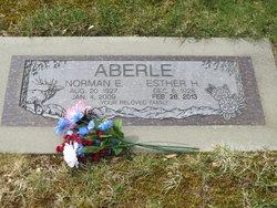 Esther <i>Holtzlander</i> Aberle