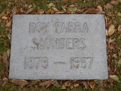 Roy Farra Saunders