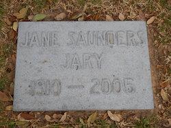 Jane Elizabeth <i>Saunders</i> Jary