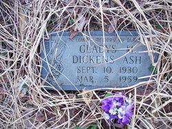 Gladys M <i>Dickens</i> Ash