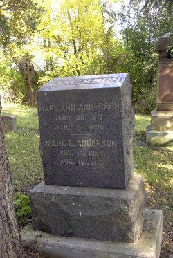 Mary Ann <i>Kling</i> Anderson