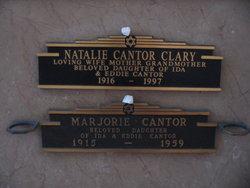 Natalie <i>Cantor</i> Clary