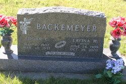 Lavina M <i>Kunz</i> Backemeyer