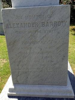 Alexander Barrow