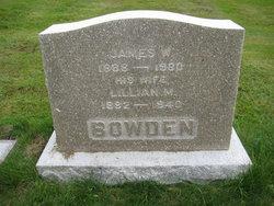 Marcia Lillian <i>Cates</i> Bowden