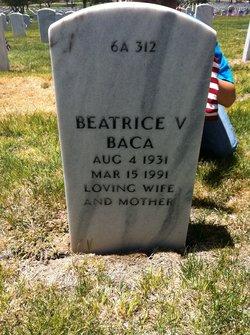 Beatrice V <i>Griego</i> Baca